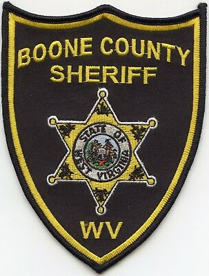 Boone County West Virginia Wv Sheriff Police Patch