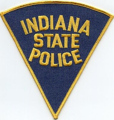 INDIANA IN STATE Highway Patrol ISP POLICE PATCH