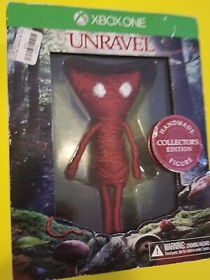 Xbox One Unravel Handmade Figures Collectors Edition