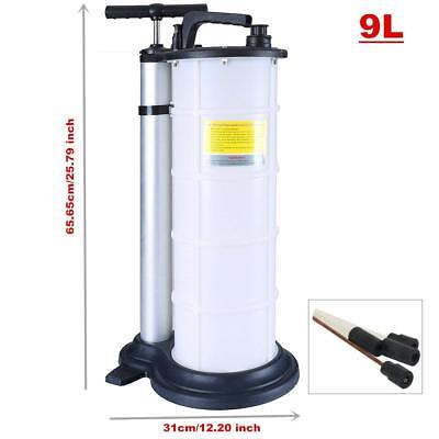 9L Vacuum Oil Fluid Suction Extractor Changer Manual Fuel Pump Tank Remover Pro