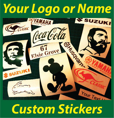 Custom Business Logo Sticker - Car/Van/Window Shop Decal Many Colours & Sizes