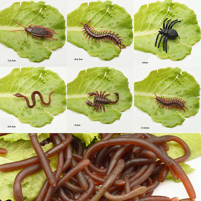 Prank Toys Simulation Centipede Plastic Toys Halloween Party Supplies Gift Toys