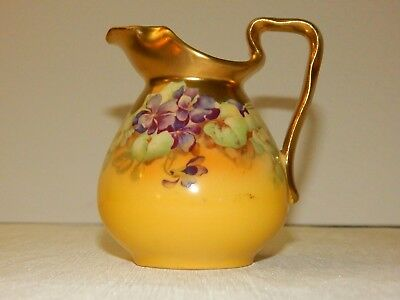 Austria Imperial Crown Heavily Gilded Creamer