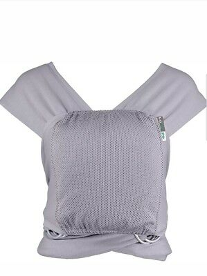 Caboo Lite- Multi Position Baby Carrier (Greystone) Easy On Easy Off NEW Boxed