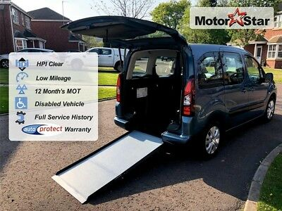 2013 Citroen Berlingo Plus Wheelchair Accessible Vehicle WAV Multispace 1.6 hdi
