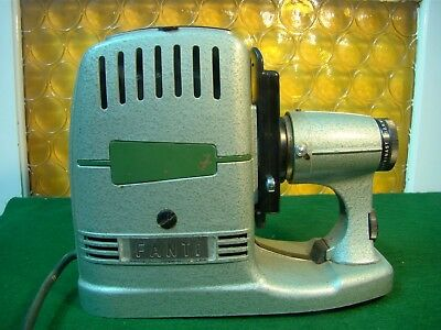 """Vintage Old Movie Slide Projector """" Fanti """" Made In Germany"""