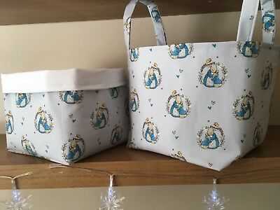 Peter Rabbit Nursery Set. Unique Baby Shower Gift. Complete Nursery Items Ready