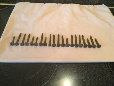 Vintage Lot Of 20 Assorted Rail Road Nails ( 1920's 1930's 1940's )