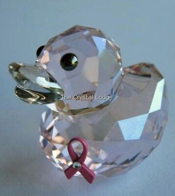 Swarovski Happy Duck Pink Hope 2010 Ltd Edition 1079887 Mint Boxed Retired Rare