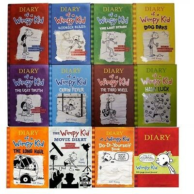 Diary of a Wimpy kid The complete collection set 12 Books Instant Delivery PDF