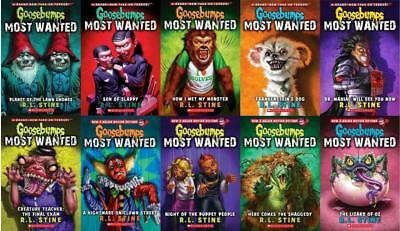 Goosebumps Most Wanted Series Set Collection 13 Books Instant Delivery PDF email
