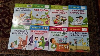 8 Scholastic Books Home Schooling Sight Word Tales Beginning Readers