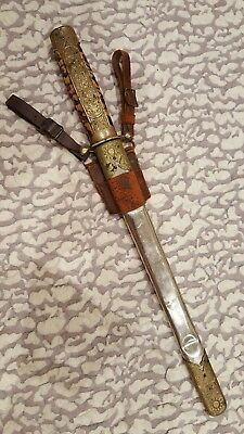 Very Rare Unusual Pattern WW2 Chinese nationalist Military Officer Dagger Dirk