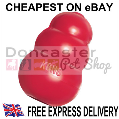 KONG Classic Rubber Red Dog Toy XS-Small-Medium-Large-XL-XXL-Ball *48HR-Delivery