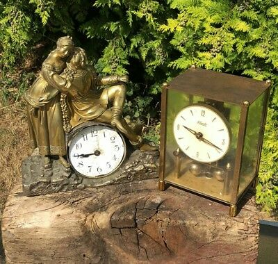 Vintage Kando German Clock & Retro French Clock Spares or Repairs *