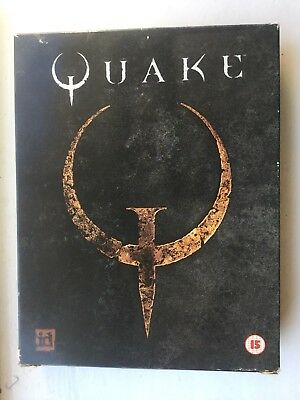 Quake PC Game in original big box, complete with manuals