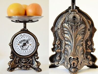 Old style, Antique, Shabby Chic, Vintage Renovated German Kitchen Scale- DRAGONS