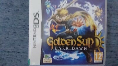 GOLDEN SUN DARK dawn premiere edition with map - Official