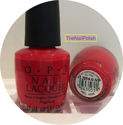 OPI NAIL POLISH * Red My Fortune Cookie * NL H42 * New Lacquer ...
