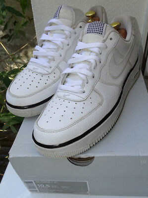 NIKE AIR FORCE One 1 '07 White Black Special Edition 44,5