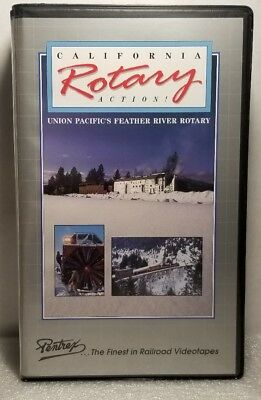 California Rotary Action, Union Pacific Feather River Rotary PENTREX VHS