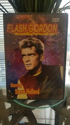 *Brand New* Flash Gordon (DVD, 2004) Starring Steve Holland ~Factory Sealed