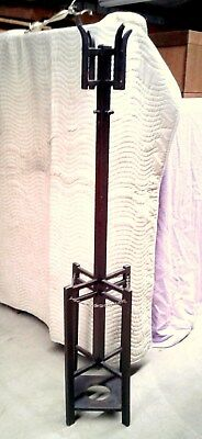 Coat Rack and Umbrella Stand Arts and Crafts Style Antique 1920's Era