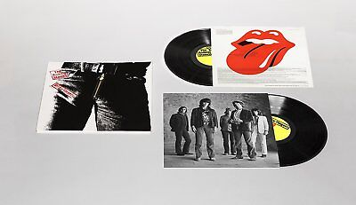 ROLLING STONES - Sticky Fingers >> Ltd Deluxe Edition 2 LP mit ZIP-Cover >> OVP