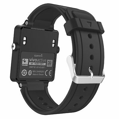 Garmin Vivoactive Watch Band, MoKo Soft Silicone Replacement Fitness Bands Wrist