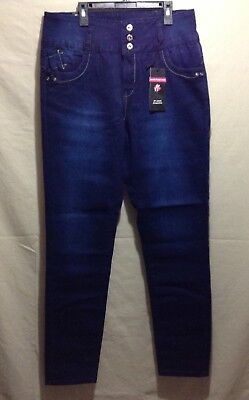 NEW Size14 Levanta Pompis High Rise Colombian Style Stretch Jeans, Woman's Pants