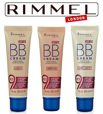 Rimmel BB Cream 9-in-1 Perfecting Super Makeup - 30ml -