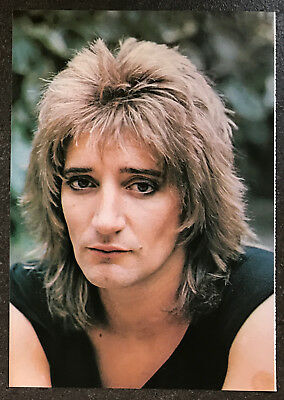 ROD STEWART - 1978 full page UK magazine annual poster