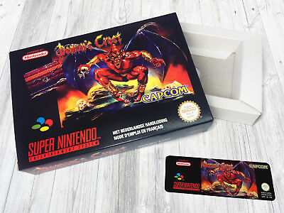Boite SNES / Box (+ extras) : Demon's Crest