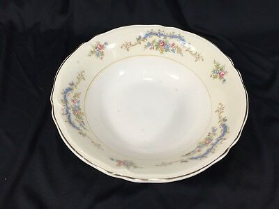 """(1) Edwin Knowles Princess Fine China 9"""" Vegetable Bowl Made In USA 485"""