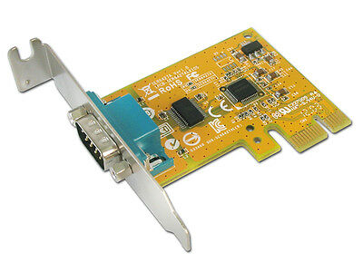 SUNIX Low Profile 1-port Serial RS-232 PCI Express to COM Port RS232 Board