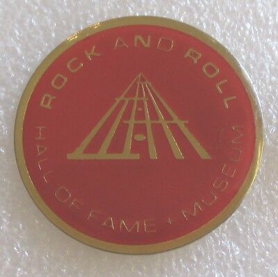 Rock and Roll Hall of Fame Museum - Cleveland, Ohio Souvenir Collector Pin
