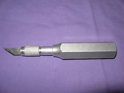 Vintage Large X-Acto #6 Knife Aluminum Metal Thick Big Handle Old