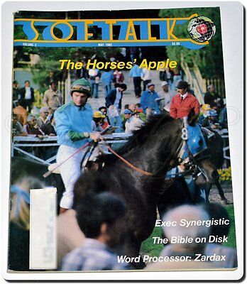 Vintage Softalk Magazine May 1982 Apple II, Full Color Game Ads, Giant 228 Pages
