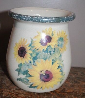 Home & Garden Party Sunflower Utensil Holder