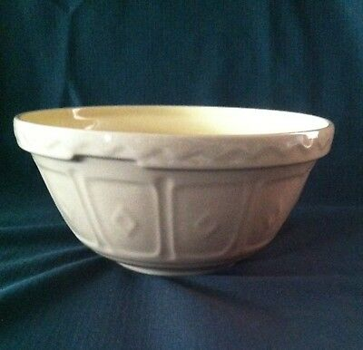 Vintage Mason Cash & Co. Mixing Bowl Made In England Church Gresley #20 8 Inch
