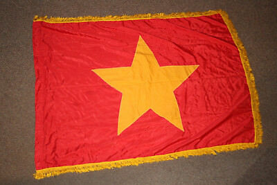 Vietnam War Original Nva North Vietnamese Communist Official Flag