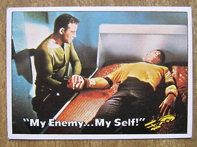 1976 Topps/Scanlens Star Trek Card:  CAPTAIN'S  LOG  ....  #22  +  Free Post