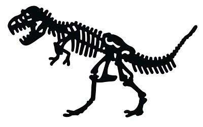Die-versions - Dinosaur Bones - metal die - for use in most cutting systems