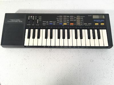 Realistic Concertmate 500 Electronic Sampling Keyboard Vintage Piano SK-1 Model