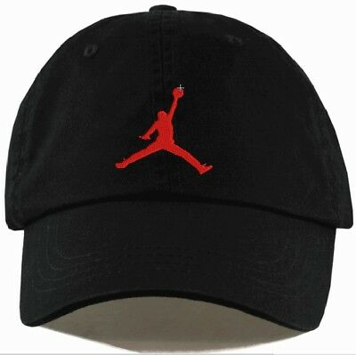 Jordan Jumpman Unstructured Hat Adjustable CUSTOM New-EMBROIDERED, Free Shipping