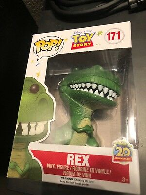 FUNKO POP! DISNEY TOY STORY 20th ANNIVERSARY REX (VAULTED)