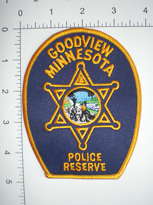 MN Minnesota Goodview Police Reserve Auxiliary patch