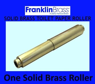 Franklin Brass Toilet Paper Holder Roller Replacement With Spring - Antique Gold