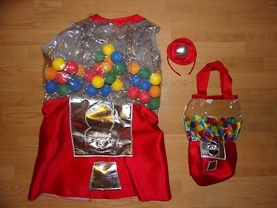 Chasing Fireflies WISHCRAFT Gumball Machine Costume Size 14-16 Halloween