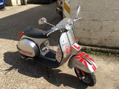 Vespa T5 Classic Scooter 125cc (172cc Performance Kit Fitted) 1998